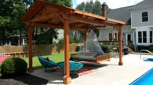 Backyard Swing Plans by Jhoola Swing Set Forever Redwood