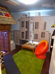 Minecraft Bedroom Ideas Bedroom Created To Look Like The Minecraft Village Created In The