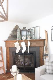 how to decorate a corner how to decorate a corner fireplace mantel for the holidays