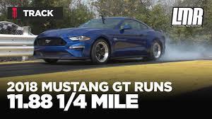 late model restoration mustang 2018 mustang gt 1 4 mile lmr com
