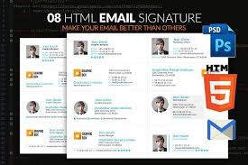 email signature email templates creative market