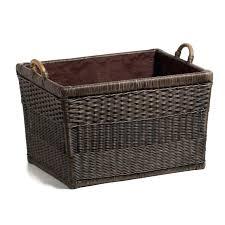 fascinating decorative storage baskets round three large storage