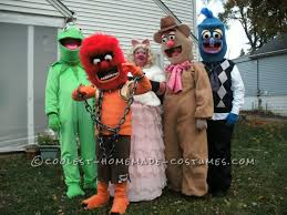 Muppet Halloween Costumes Coolest Homemade Muppets Group Costume