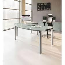 bureau en verre bureau en verre m38 mobilier de bureau