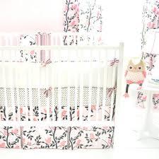 Silk Crib Bedding Set Pink And Grey Crib Bedding Target Celine In Pink Crib Bedding