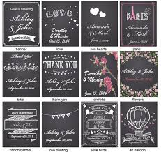 personalized goodie bags chalkboard personalized goodie bags 12 pcs chalkboard favors