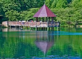 Botanical Gardens In Va The Gazebo On Lake Caroline Meadowlark Botanical Garden Flickr