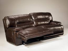 ashley furniture home theater seating exhilaration chocolate 42401 2 seat power reclining sofa