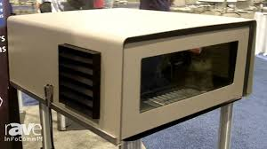 infocomm 2014 tempest specifies the blizzard projector enclosure