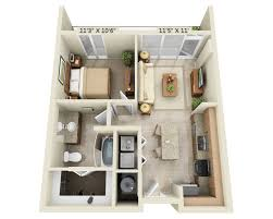 One Bedroom Apartment Plans Floor Plans U0026 Pricing For Fiori On Vitruvian Park Vitruvian Park