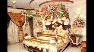 most beautiful first night wedding bedroom decoration ideas with