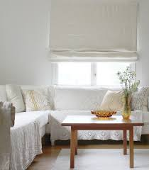 amazing pull down rolling white curtains for double windows drapes