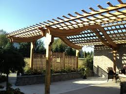 importance of arched pergola in outdoor u0027s beauty home design and