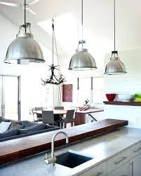 Stainless Steel Pendant Light Fixtures Light Above Kitchen Sink Kitchen Sink Pendant Light Lighting