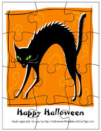 halloween puzzles printables free printable jigsaw puzzels to print trials ireland