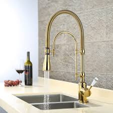 solid brass kitchen faucet splendid high arc swirling dual mode pull kitchen faucet with