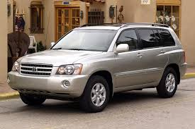toyota highlander sales 2003 toyota highlander overview cars com