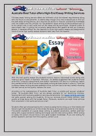 Australia best tutor offers high end essay writing services Australia Best Tutor offers High End Free Essays and Papers