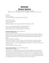 Resume Expected Graduation by Sample Resume Anticipated Graduation