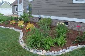 Rocks For Garden Edging 13 Tips For Landscaping On A Budget Rock Landscaping And Budgeting