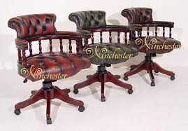 chesterfield captains leather office chair leather sofas