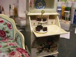How To Make Doll House Furniture Dollhouse Miniature Furniture Tutorials 1 Inch Minis Two Tier