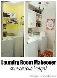 laundry room makeover plus a giveaway for 3 gallons of behr paint