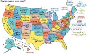 us map states excel infographic united states of the environment environment