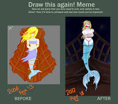 Mermaid Meme - again meme mermaid by mercymurrain on deviantart