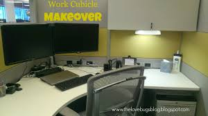 work cubicle makeover the lovebugs blog