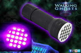 uv 21 led flashlight torch ghost hunt paranormal forensic uk