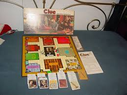 amazon com clue parker brothers detective game 1972 edition