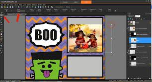 free halloween graphic create a halloween collage with our free template pack corel
