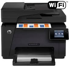 Basta Multifuncional HP LaserJet Pro MFP M177fw com ePrint - Impressora  #LW67