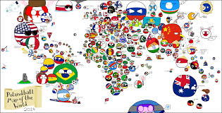 Sahara Desert On World Map by Polandball Map Of The World 2014 Polandball