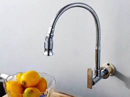 install kitchen faucet with sprayer wall mount kitchen faucet installation of the best wall mount
