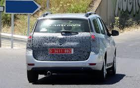 renault logan trunk facelifted 2017 dacia sandero u0026 logan mcv spied