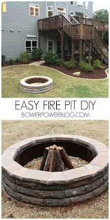 How To Make A Fire Pit In The Backyard by 27 Surprisingly Easy Diy Bbq Fire Pits Anyone Can Make