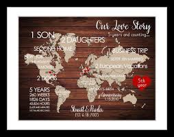 five year wedding anniversary gift ideas best 25 anniversary gift for ideas on anniversary