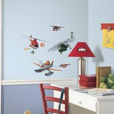roommates 5 in x 11 5 in planes fire and rescue peel and stick