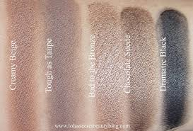 swatches of maybelline color 24 hr eyeshadows in