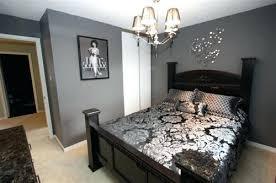 gray walls in bedroom dark grey bedroom walls by1 co