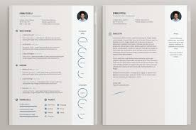 designer resume templates 40 best 2018 s creative resume cv templates printable doc