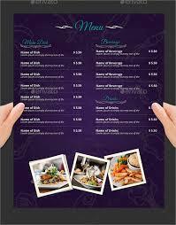stunning breakfast menu template gallery resume samples