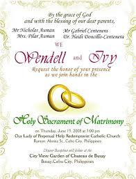 wedding invitations letter wedding invitation letter sle awesome wedding invitations for