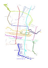 Mexico City Subway Map by Xochimilco Light Rail Wikipedia