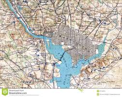 Map Dc 1890 Map Washington Dc Stock Photo Image 8744570