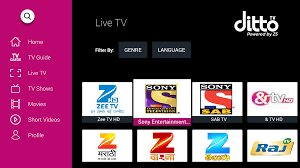 dittotv live tv shows channel amazon in appstore for android