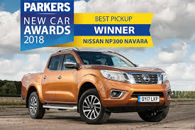 nissan truck 2018 parkers van and pickup award winners 2018 parkers