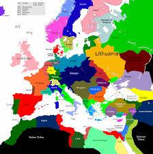 Modern Europe Map by Europe 1430 1554 1584 Map Game Alternative History Fandom